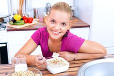 Free Healthy Breakfast Royalty Free Stock Images - 20805479