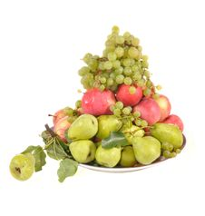 Free Fruit In A Plate Stock Photography - 20805632