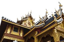 Free Beautiful Temple In Thailand. Royalty Free Stock Photography - 20806107
