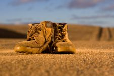 Free Hiking Boots Stock Photography - 20806702