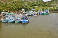 Free Fisherman Village. Royalty Free Stock Photo - 20806725