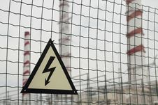 Free Warning Sign - Electricity Stock Photos - 20806823