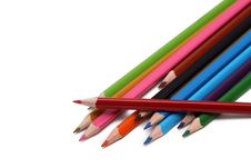 Free Coloured Pencils Stock Photography - 20806832