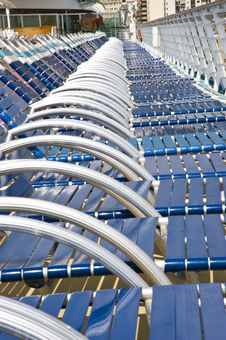Many Beach Chairs