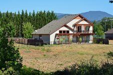 Free House Near The Rogue River Stock Photos - 20807333