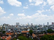 Free Bangkok City Topview In Thailand Stock Image - 20808721