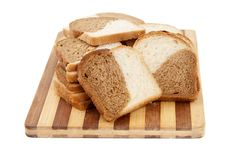 Free Sliced Bread On A Board Stock Image - 20809141