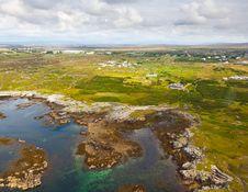 Free Aerial Conemara Coast Royalty Free Stock Images - 20809389