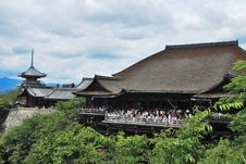 Free View Of Kiyomizu Temple And Pagoda Royalty Free Stock Images - 20809839