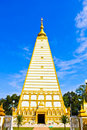 Free Front View Of White Pagoda Stock Images - 20810314