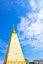 Free Obligue View Of White Pagoda Stock Photos - 20810393