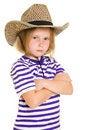 Free Girl Cowboy Royalty Free Stock Image - 20812546
