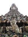 Free Isolated Details Of Pagoda Wat Arun , Bangkok Royalty Free Stock Image - 20814816