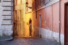 Free Alley In Rome Stock Image - 20810121
