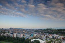 Free View On Edinburgh Stock Photography - 20810162