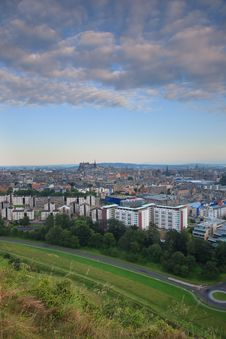 Free View On Edinburgh Stock Image - 20810181