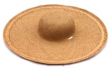 Hat Made From Fiber Of Water Hyacinth Stock Photography