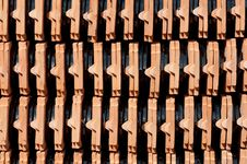 Free Ceramic Roof Tiles Stock Image - 20810421