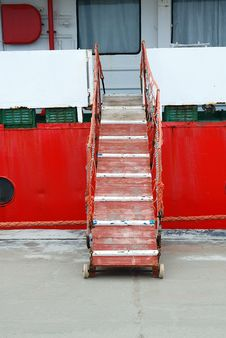 Ship S Ladder Royalty Free Stock Images