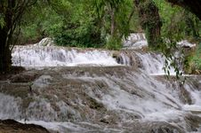 Free Waterfall At The Monasterio De Piedra Stock Images - 20811664