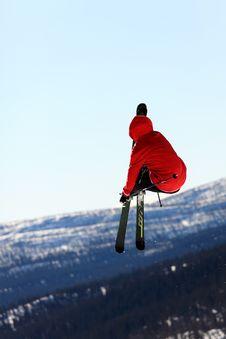 Free Ski Jump Stock Photo - 20812780
