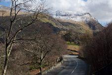 Free Mountain Road. Stock Image - 20812941
