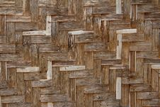 Free Bamboo Wicker Wall Stock Images - 20813404