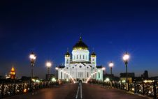 Free The Cathedral Of Christ The Savior Royalty Free Stock Image - 20813896