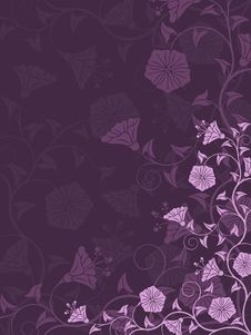 Free Abstract Floral Background Royalty Free Stock Photos - 20813988