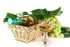 Free White Wine Royalty Free Stock Photos - 20814788