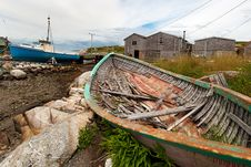 Free Fishing Village, Nova Scotia Stock Photos - 20814923