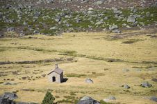 Chapel In Estrela Montain, Portugal Stock Photography