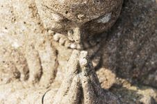 Free Praying Buddha Royalty Free Stock Photography - 20814977