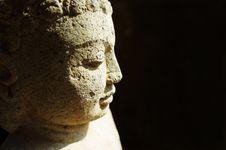 Free Stone Buddha Royalty Free Stock Photo - 20815015
