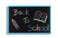Free Back To School Text On  Blackboard Stock Photos - 20815213