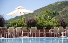Free Resting By The Pool Stock Images - 20815394
