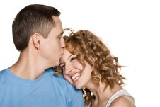 Free Beautiful Young Couple Kissing Stock Photos - 20815883