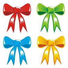 Free Celebrating Color Gift, Ribbon, Bow Royalty Free Stock Images - 20816039