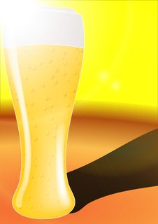 Free Golden Beer Royalty Free Stock Photo - 20816585