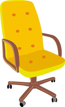 Free Office Armchair Royalty Free Stock Photo - 20817145