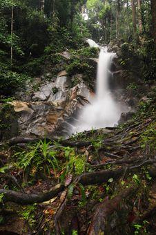 Free WaterFalls,Jeram Toi Waterfalls 02 Royalty Free Stock Photography - 20817177