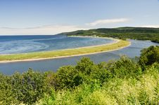 Free Madeleine Cape At Low Tide, Quebec Royalty Free Stock Image - 20818336
