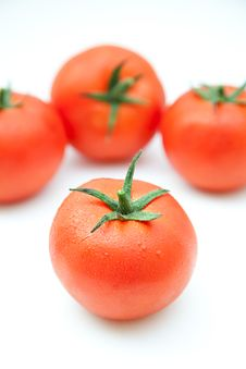 Free Group Of Tomatoes Royalty Free Stock Photos - 20818718