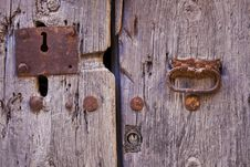 Free Old Lock Stock Photography - 20819002