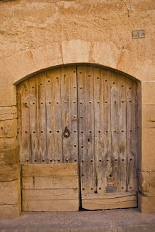 Free Old Door Royalty Free Stock Image - 20819086