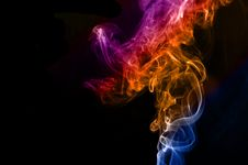 Colorful Smoke Abstract Stock Photos