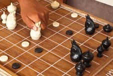 Free Thai Chess. Stock Images - 20819434