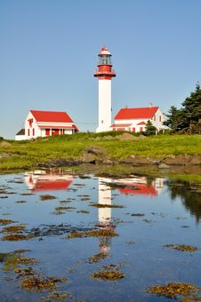 Free Pointe De Mitis Lighthouse, Quebec Stock Photos - 20819703