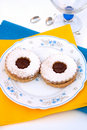 Free Hungarian Cookies With Jam Stock Photography - 20829472