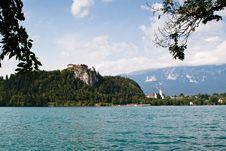 Free Castle At Lake Bled, Slovenia Stock Image - 20820171
